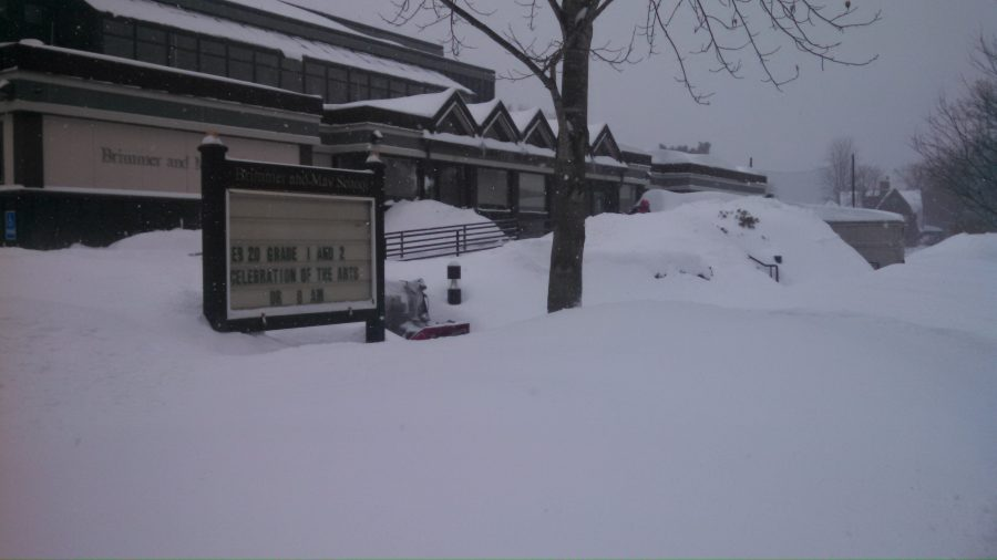 A+blizzard+from+2016+hammers+campus.+Gator+file+photo.+