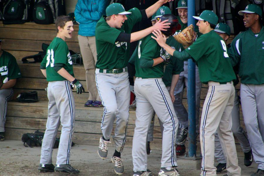 V. Baseball Wins Back-to-Back Championships
