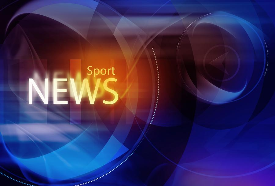 Graphical+digital+sport+news+background+with+news+text.