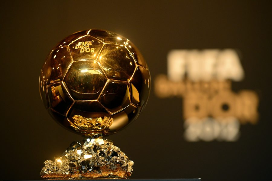The Fifa Ballon dor trophy is pictured ahead of the Ballon dOr awards ceremony on January 7, 2013 at the Kongresshaus in Zurich. AFP PHOTO / OLIVIER MORIN