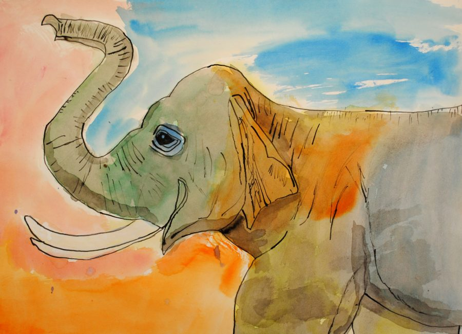 Alvin+Zhao%2C+Honorable+Mention+in+Painting+The+Elephant
