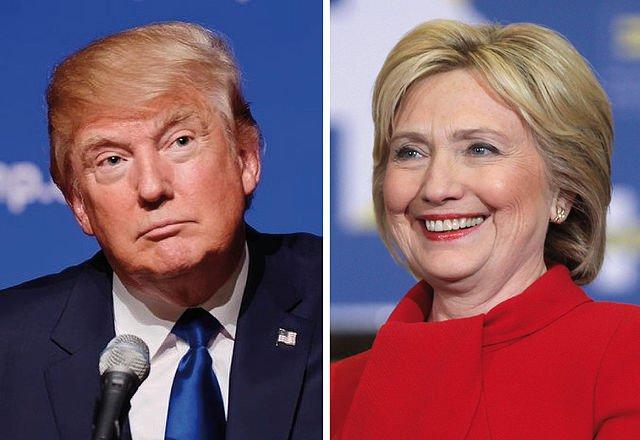 Trump+and+Clinton+Debate+Police%2C+Race