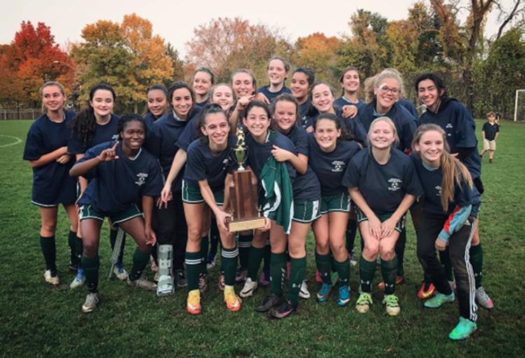 VG Soccer Wins League Title