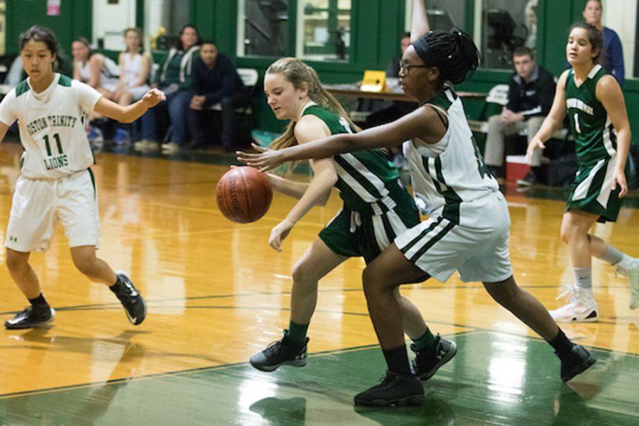 V. Girls Basketball on Fire