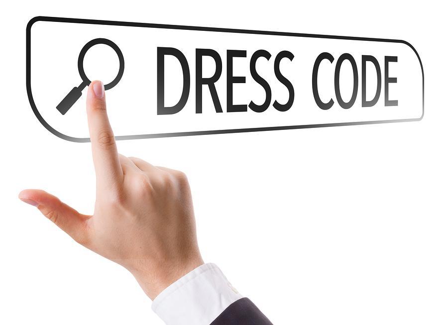 Dress+Code+written+in+search+bar+on+virtual+screen