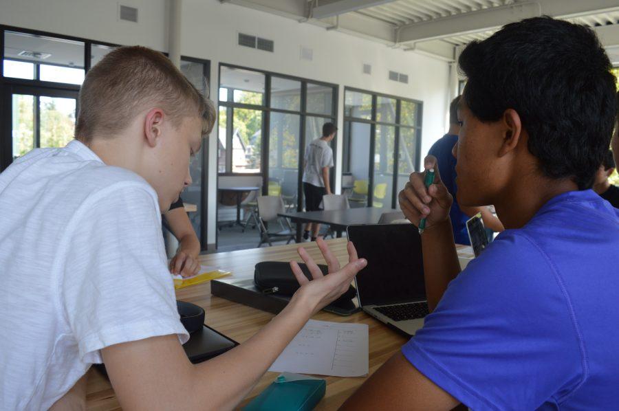 Students+enjoy+the+innovation+center.+Photo+by+Caroline+Ellervik++18.+