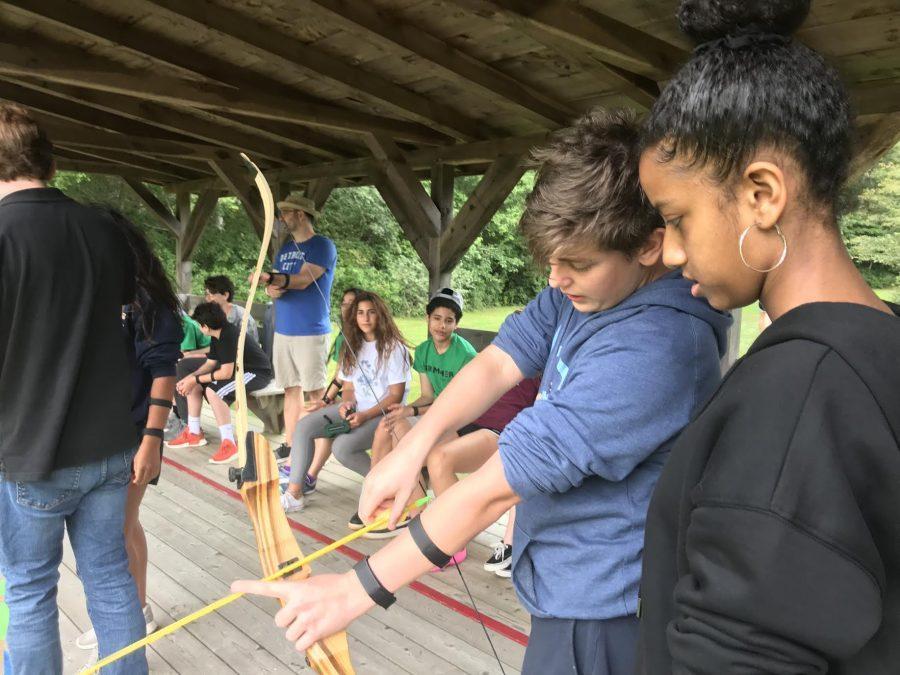 Students+bond+at+Camp+Windgate+Kirkland.+Photo+by+David+Cutler.