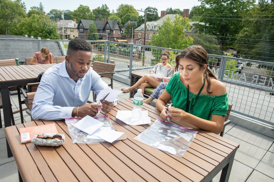 Students+Enjoy+New+Outdoor+Classroom