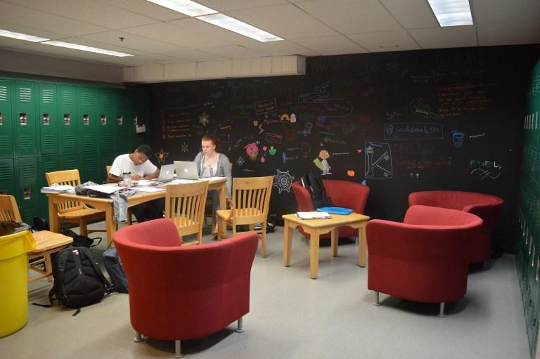 The+new+space+has+power+outlets+and+new+furniture.