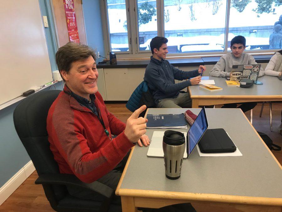 Humanities+Department+Co-Chair+teaches+AP+English+Language.+Photo+by+David+Cutler.
