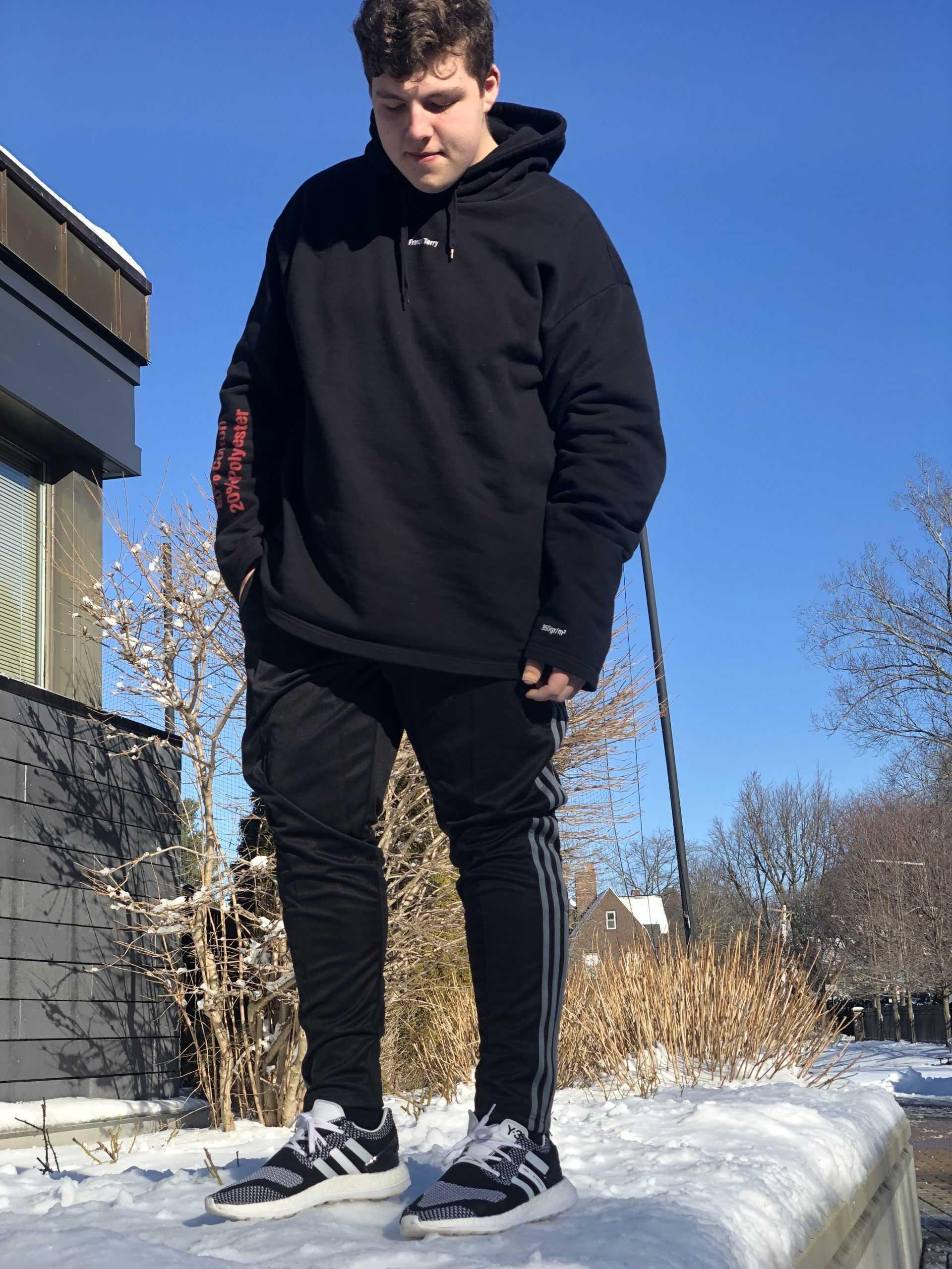 Cole+Morad+19+reflects+on+his+fashion+sense.%0A
