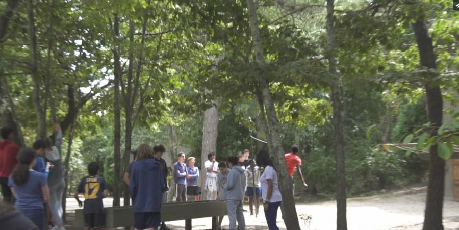 GNN: Students Bond at Camp