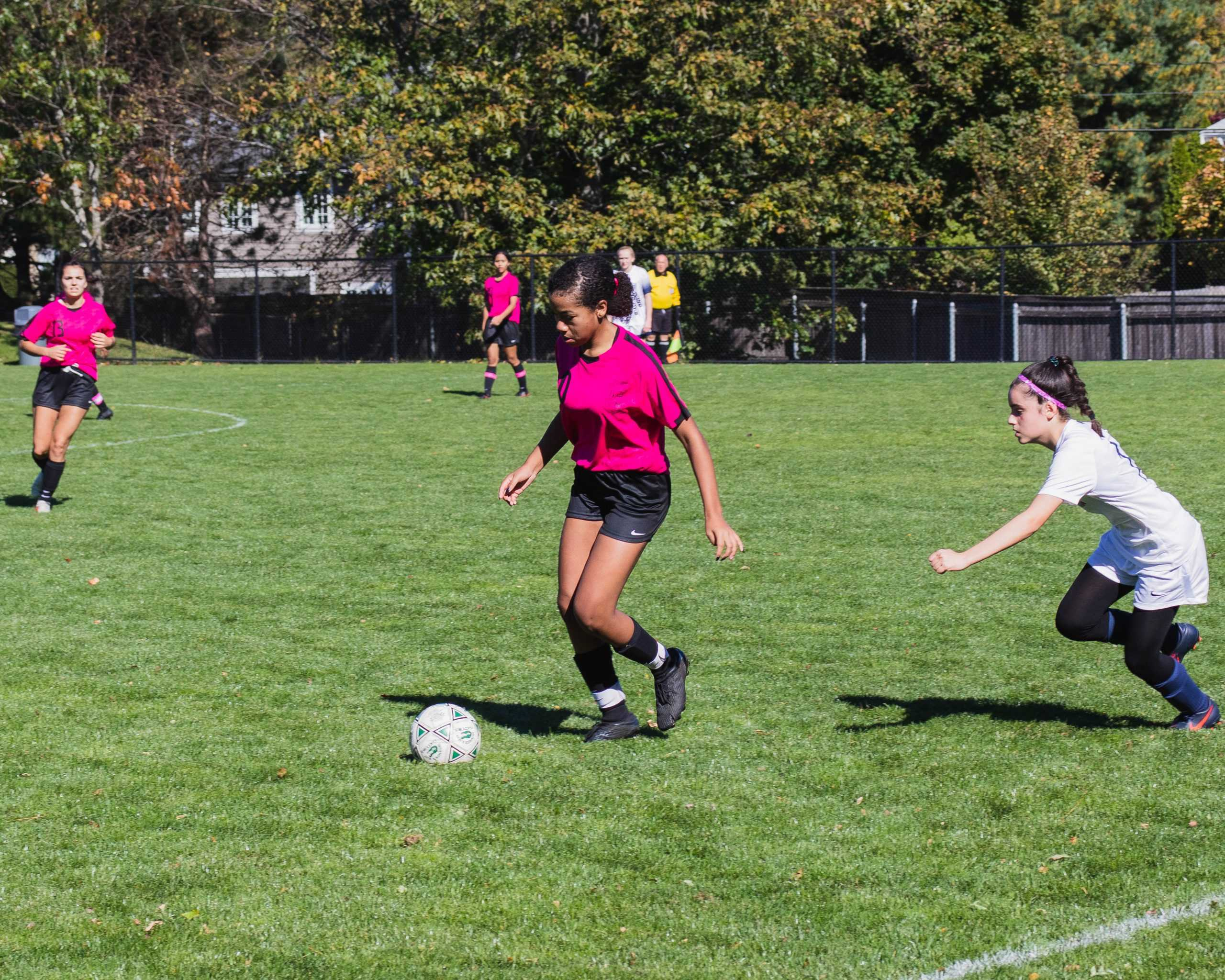 Students%2C+faculty%2C+and+alums+enjoyed+exciting+games+at+Orr+Field.