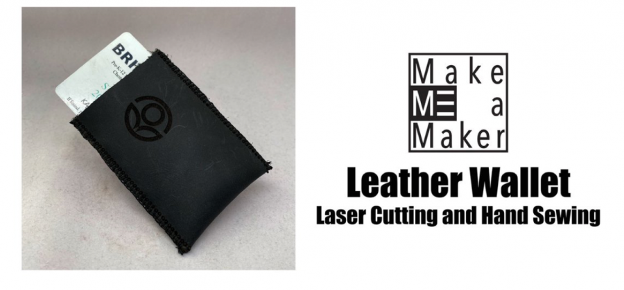 For Make Me a Maker, students can now create their own leather wallets. Photo courtesy of Kathryn Lee.
