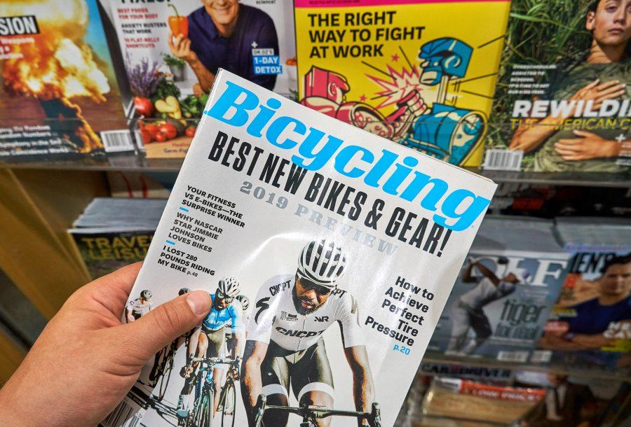 Bicycling+magazine+is+a+popular+cycling+brand+published+by+Hearst.+Photo+purchased+by+BigStock.com.