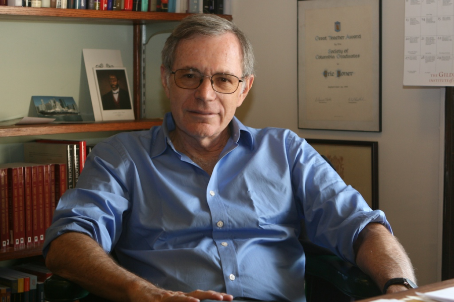 A portrait of Eric Foner, Pulitzer Prize-winning historian. Photo courtesy of Wikipedia Commons.