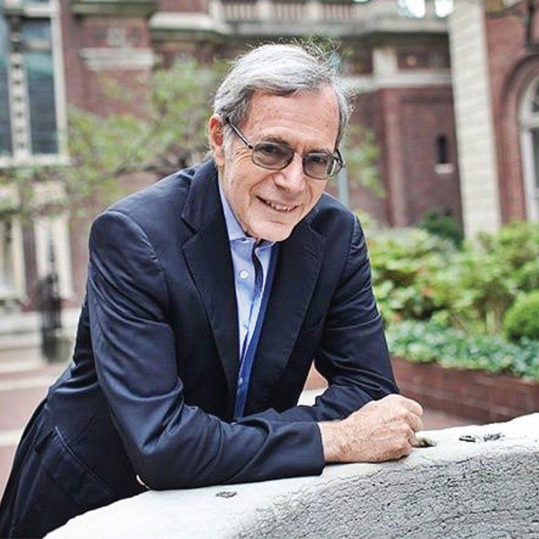 Portrait of Eric Foner. Courtesy of Columbia University.