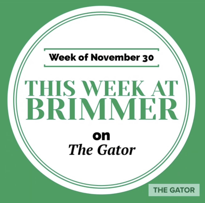 This Week at Brimmer