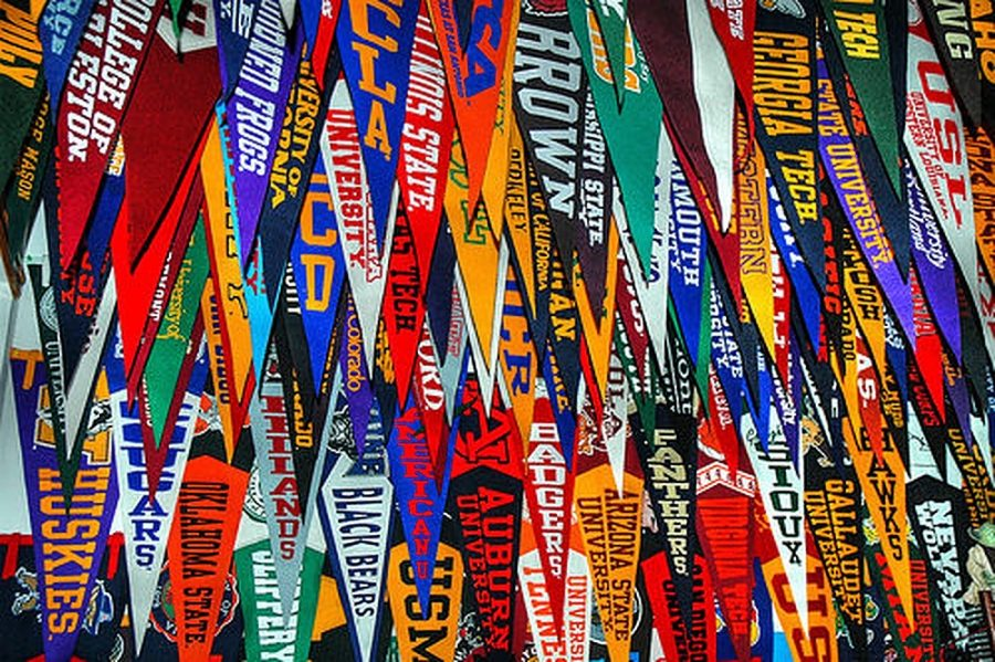 Banners+in+the+college+counseling+office.+Gator+file+photo.+