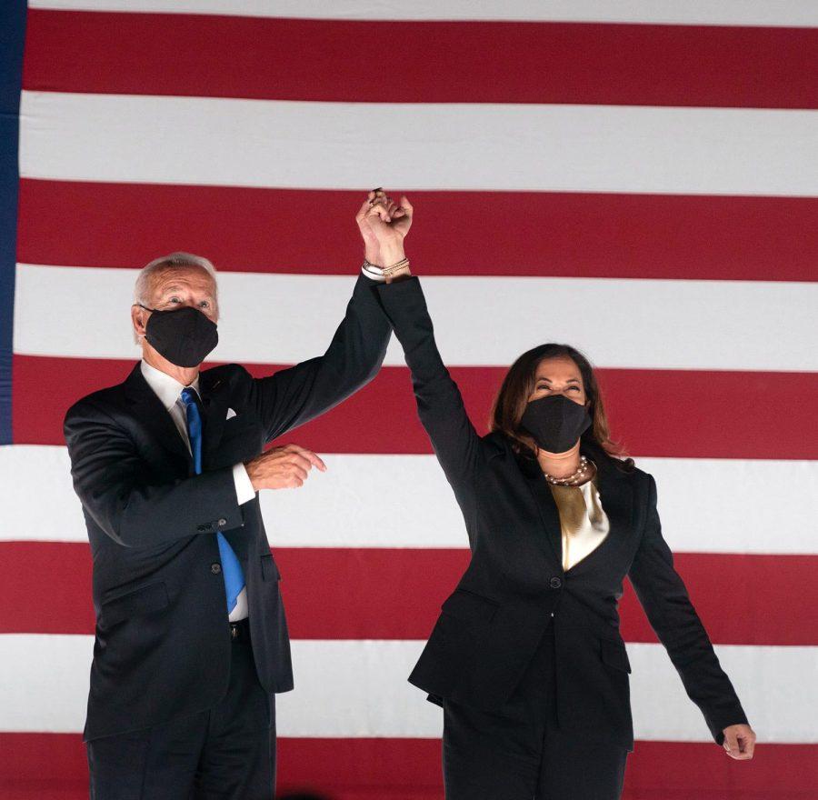 President-elect+Joe+Biden+and+Vice+Preisdnet-elect+Kamala+Harris+during+a+2019+campaign+rally.+Photo+courtesy+of+Wikimedia+Commons.