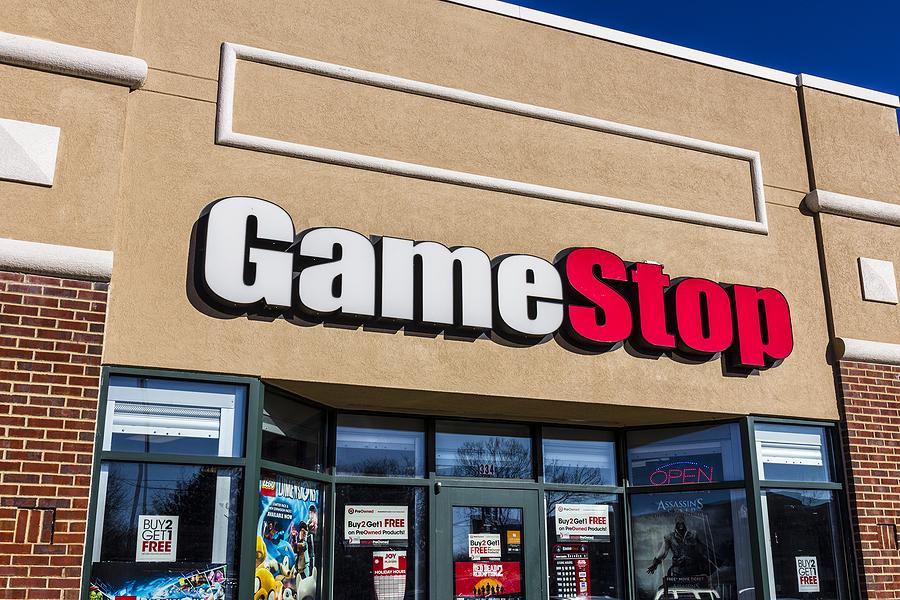 A GameStop Strip Mall Location.
