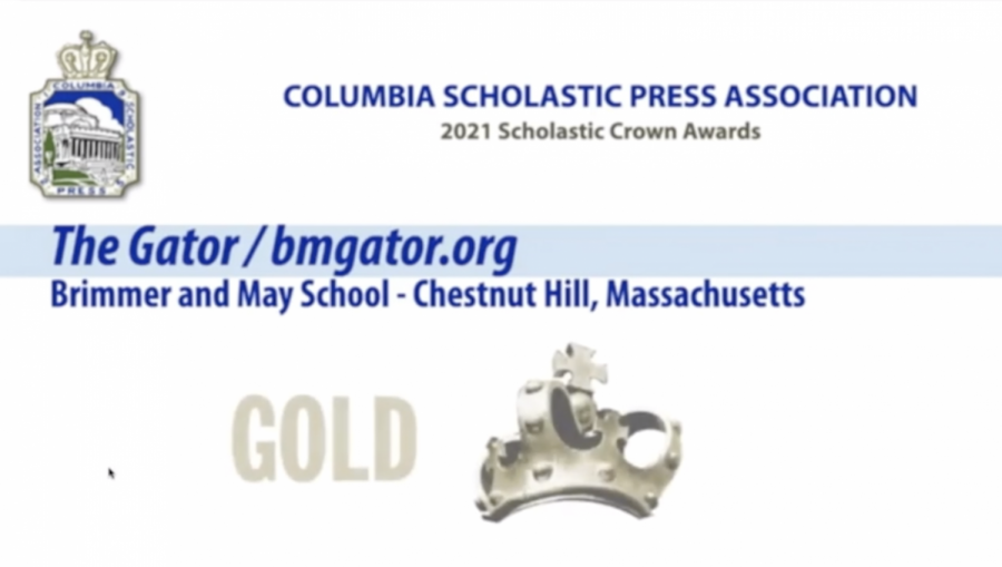 Gator Wins CSPA Gold Crown