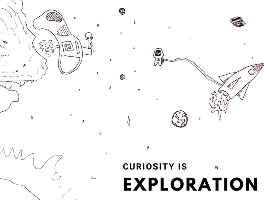 Comic: Curiosity is Exploration