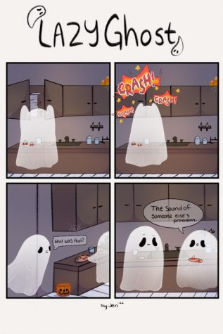 Comic: Lazy Ghost