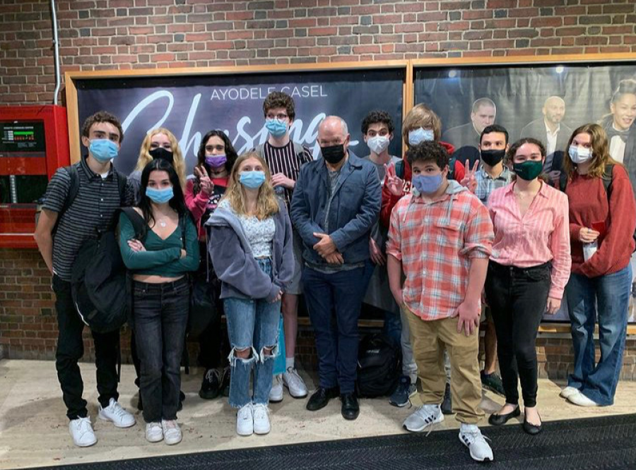 CAP students at American Repertory Theater. Photo courtesy of Bill Jacob.