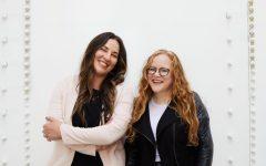 Fitzgerald (right) stands alongside her colleague, Sara de Zarraga. (Photo courtesy of Elisabeth Fitzgerald)